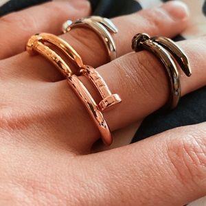 Dainty Nail Ring